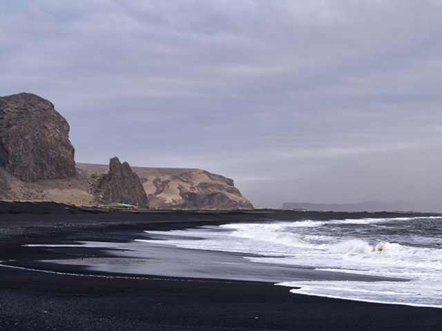 The coastline near Vík