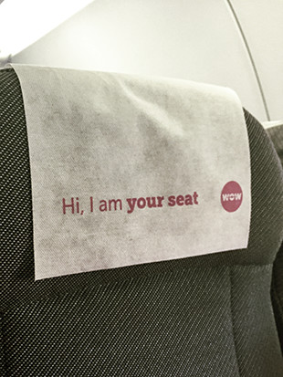 I am your seat